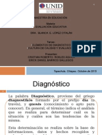 Elementos de Diagnóstico