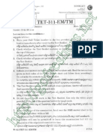 APTET 2014 Social Question Paper II with Solutions pdf