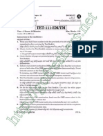 AP TET 2012 Paper I Questions & Answers pdf Download