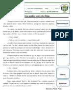 Produção Textual Texto O Caboclo Combinado Com Exercícios PROFESSOR