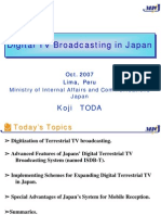 Digital TV Broadcasting Japan
