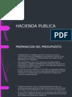 Exposicion Hacienda Publica