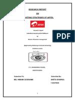 212691802 Marketing Strategies of Airtel Docx (1)