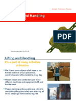 Lifting and Handling- Nov 2013