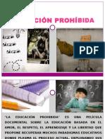 EDUCACIÓN PROHÍBIDA