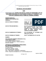 Technical Bid Document