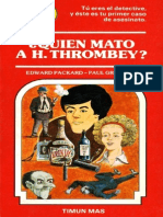 Elige Tu Propia Aventura - 005 Quien Mato a H Thrombey