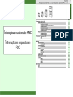 Catalog Moeller Intrerupatoare PMCsi PSC