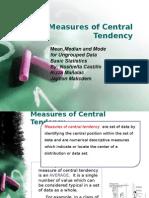 Statistics Initial Presentation(Handout)