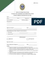 Arp-01 Sois Undergraduate Thesis Application Form