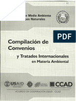 Compilacion Convenios del medio ambiente
