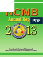 NCMB Annual Report 2013