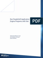 Run PS APP Engine Programs w Stat