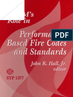 ASTM Role in Performance-Based Fire Codes and Standards