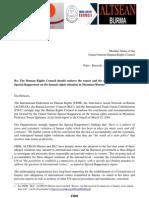 FIDH_ITUC_BLC_ALTSEAN_Letter_UNHRC_2010