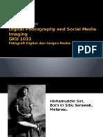 Digital Photography and Social Media Imaging