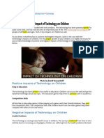 impactoftechnologyonchildren