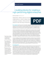 McKIP Six Building Blocks for Creating a High-performing Digital Enterprise 2015-09