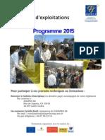 Formations AdaproLR 2015