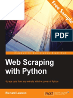 Web Scraping with Python - Sample Chapter