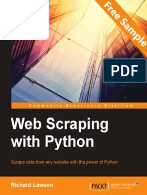 Web Scraping with Python - Sample Chapter | Websites | Web