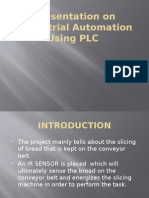 Presentation on Industrial Automation Using PLC