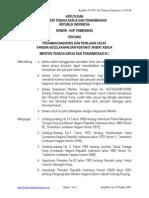 KepMen No. 79 Th. 2003 Pedoman Diagnosis Dan Penilaian Cacat Karena Kecelakaan Dan Penyakit Akibat Kerja