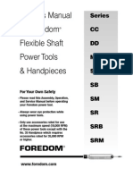 Foredom CC S SR Manual