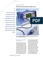 Gated Measurements Made Easy - Rohde & Schwarz