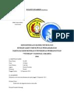 Status Pasien Neurologi Bangsal Tn RN