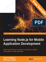 Learning Node.js for Mobile Application Development - Sample Chapter