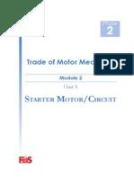 DC Starter Motor