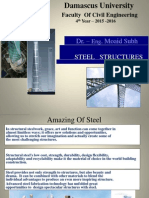 Subh Steel Structure 4th 2015 2016 Lecture1