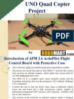 Arduino UNO Quad Copter Project Buy Robomart