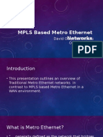 MPLS Based MetroE Networks