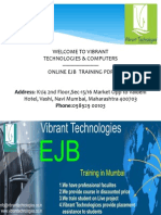 Ejb Training Institute in Navi Mumbai