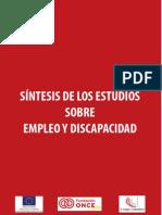 Sintesis de los estudios sobre empleo y discapacidad