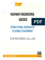 Structural Design of Pavement