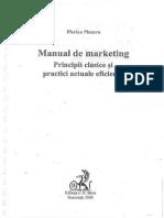 Manual de Marketing - Florina Panzaru