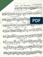 Marsteller 6 Studies for Trombone