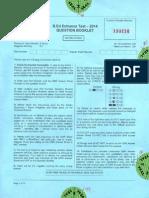 Sample paper-11 (Jammu & Kashmir -BED-K )