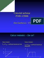 Calcul Static Neliniar (1)