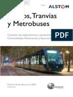 Metros y Tranvias