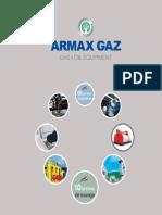 armax gaz catalogue english  2012