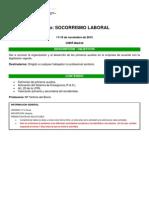 Curso Socorrismo Laboral 2015