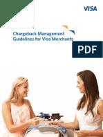 Chargeback Management Guidelines for Visa Merchants