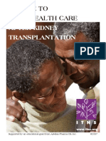 A Guide to Your Health Care After Kidney Transplantation_eng