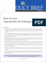 Dash for Gas Opportunities and Challenge