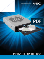 NEC 16x DVD±R/RW DL
