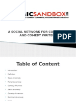 Power Point Presentation 3 - Comic Sandbox